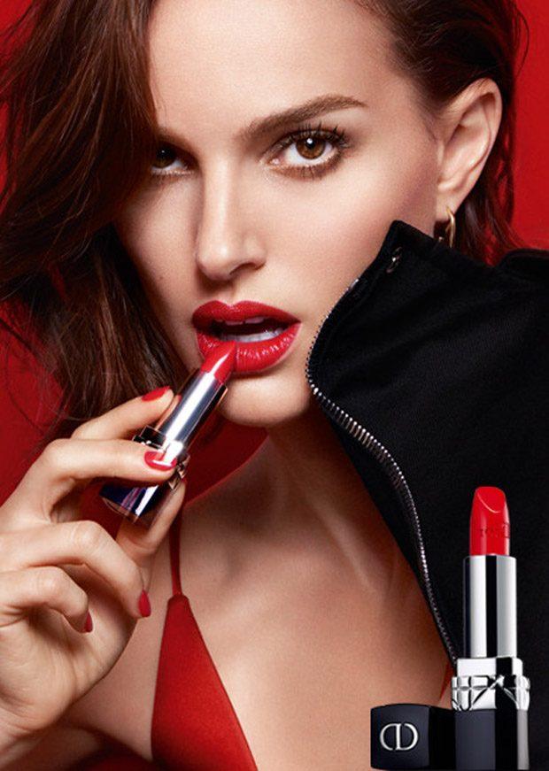 #ifeelgood Natalie Portman Stars in Rouge Dior Campaign