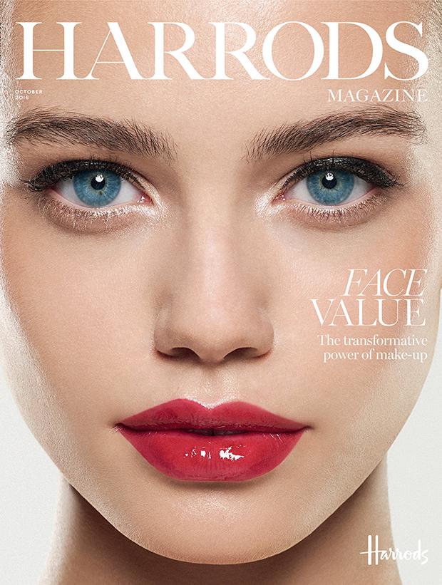 Elle Trowbridge By Rui Faria For Harrods Magazine Beauty