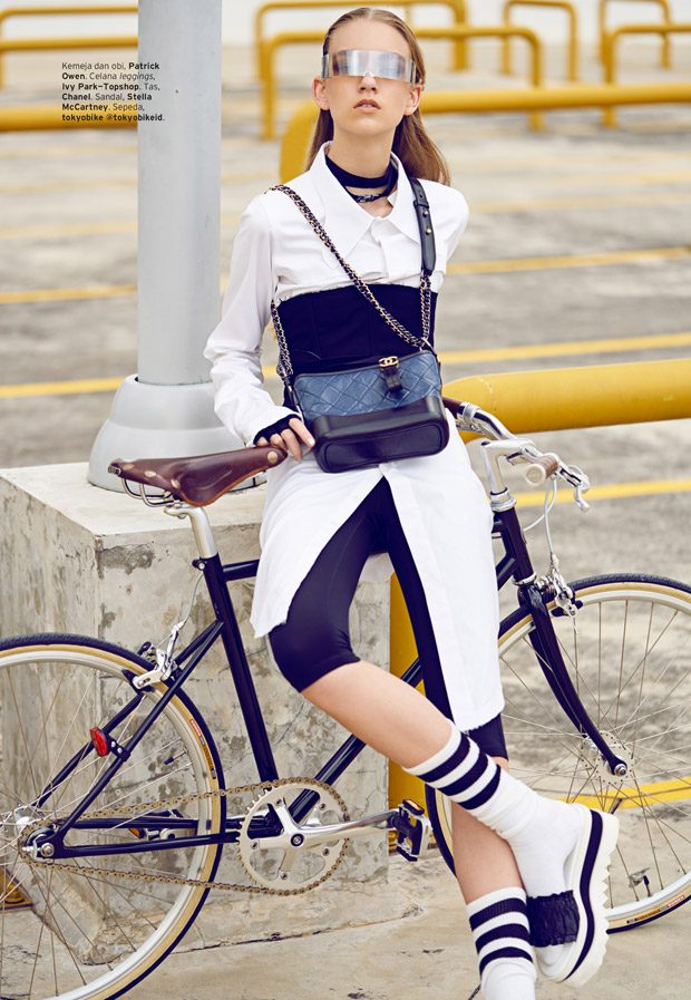 Chick on Speed by Glenn Prasetya for ELLE Indonesia April 2017 Issue 1e6e9bfc87