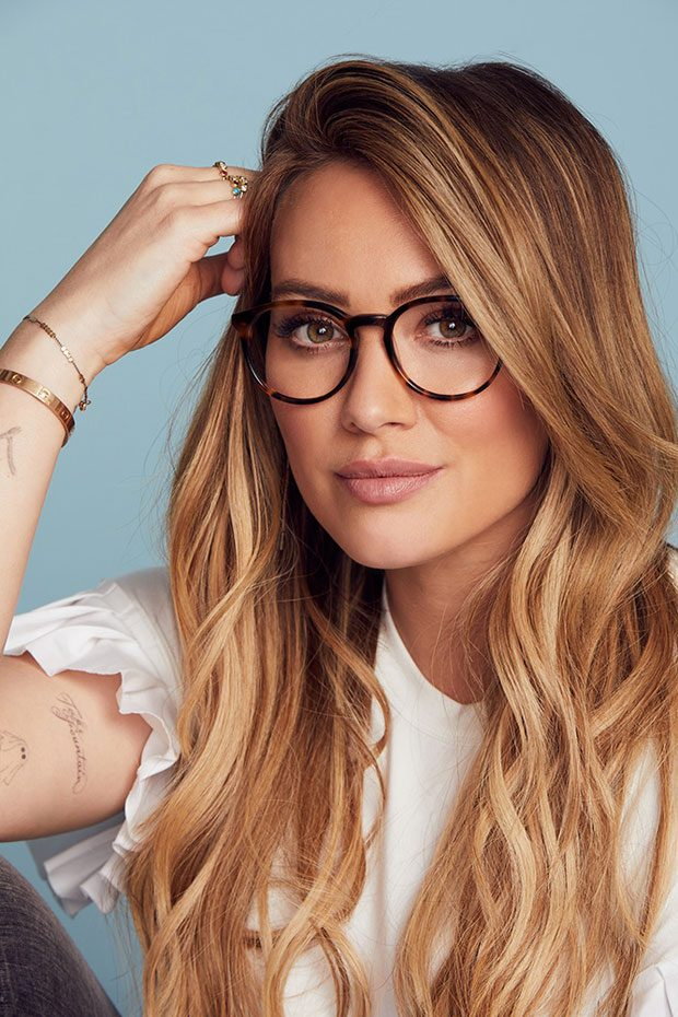 727778d5efa2 Hilary Duff Posing for Fashion Photographer Harper Smith