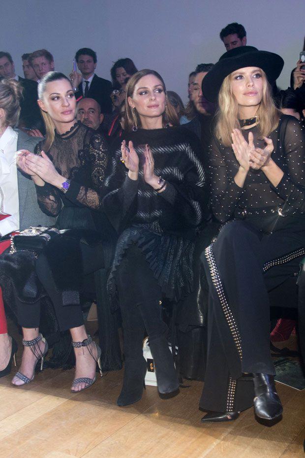 ELIE SAAB front row