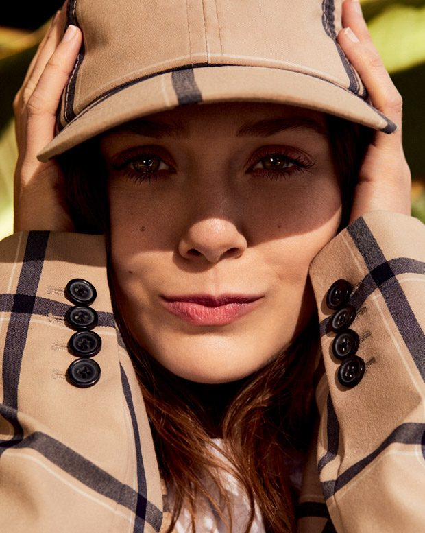Elizabeth Olsen Stars In Vogue Korea April 2018 Issue